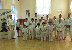 Bushido Warriors complete summer course